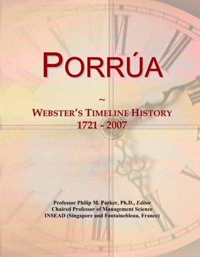porra-websters-timeline-history-1721-2007