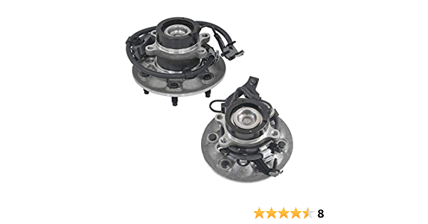 DRIVESTAR 515106 RWD Front Wheel Hub /& Bearing Assembly Driver Left side for Chevrolet Colorado 2004 05 06 07 08 GMC Canyon 06-08 Isuze i-280 2006 i-290 07-08 2WD w//ABS