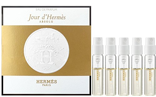 Hermes jour dherms absolu fragrance lot of 5 mini travel vials 30oz
