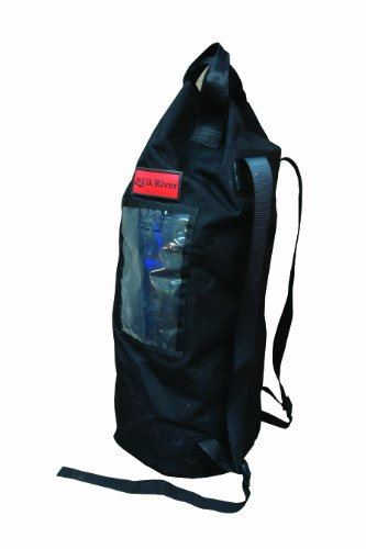 Elk River 84310 EZE-Man Nylon Rope Bag with Drawstring Closure, 12'' Width x 27'' Depth by Elk River