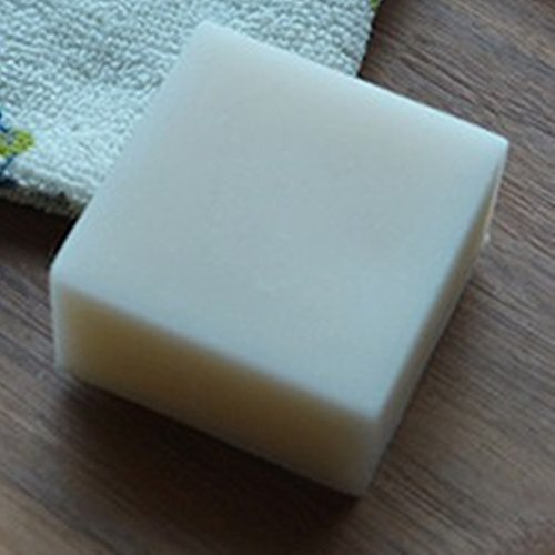 Blower Dishwasher (Nynoi goat milk soap base bulk organic melt pour natural Goat milk Handmade Soap hand skin cleansing wash Hair Acne Treatment Remove Whelk Shrink Pore Face Care 1 bar)