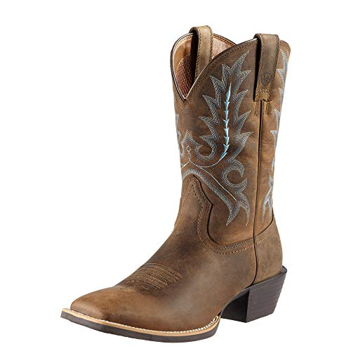 Ariat Men's Sport Outfitter Western Cowboy Boot, Distressed Brown, 10 M US ()