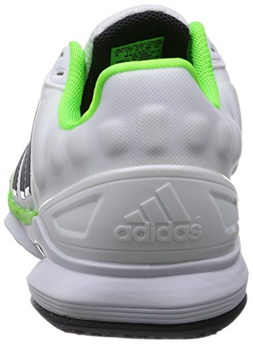 adidas - Zapatillas de danza de sintético para hombre blanco blanco blanco - White/Green/Black
