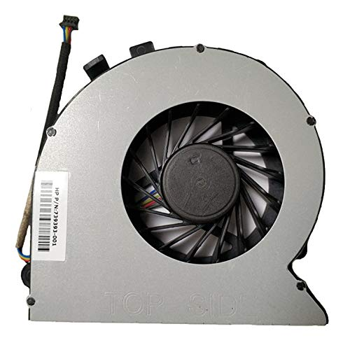 New CPU Cooling Fan Compatible HP 18 All-in-ONE 18-1000 18-1200 18-1200CX CPU Cooling Fan 4-Pin 4 Line P/N DFS651312CC0T 739393-001 6033B0035801 6033B0026501 Fan