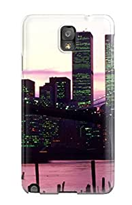 Galaxy Cover Case - City Protective Case Compatibel With Galaxy Note 3