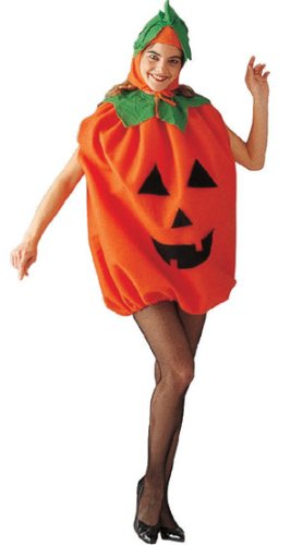[Pumpkin Adult Costume Size Standard] (Adult Pumpkin Halloween Costumes)