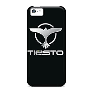 Great Hard Phone Covers For Iphone 5c (Idy11126IuAD) Support Personal Customs Stylish Tiesto Pattern