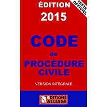 Code de procédure civile (French Edition)