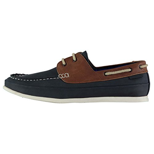 Soviet Hombre Classic Boat Shoes Navy