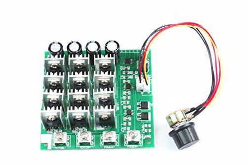 KNACRO 60A high-power pwm DC motor speed controller 12V / 24V / 36V / 48V DC 10-55V Maximum power 3000W SCM drive motor controller module