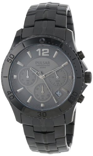 (Pulsar Men's PT3293 Chronograph Collection Watch)