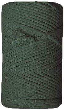 CUERDA RUSTICA PARA MACRAME 3MM 500 GRAMOS 110 METROS RUSTIC CORD VERDE BOTELLA CASASOL: Amazon.es: Hogar