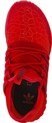 adidas Tubular Radial J, Zapatillas de Gimnasia Unisex Niños, Gris Rosso (Red/Red/Cblack)