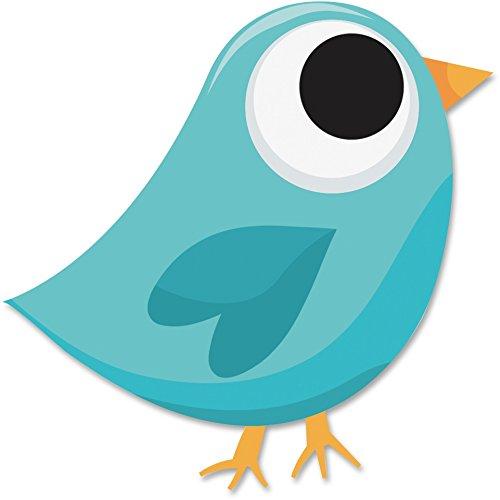 Bird Eraser - MotivationUSA Ashley 10038 Tweet Bird Magnetic Eraser Blue