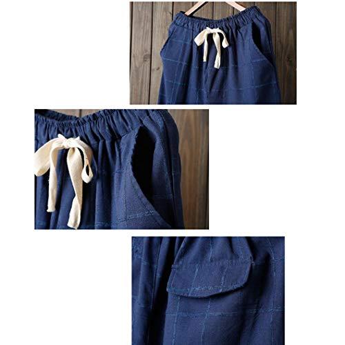 Jeanshosen Impero Pantaloni Marine Donna ITISME 78HnAqAg