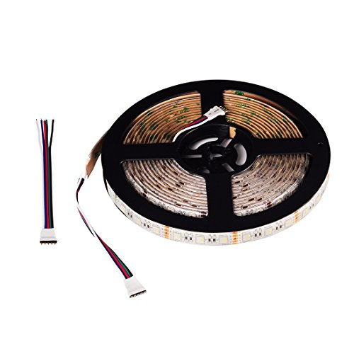 BTF-LIGHTING 5050 RGBW RGB+Whtie strip 4 in 1 5M 16.4ft 60leds/m IP65 Waterproof in slicone coating Mixed color led strip