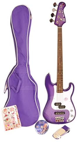 Gypsy Rose – Guitarra Baja – Pack baja Viola GGY grb1 K/V: Amazon ...