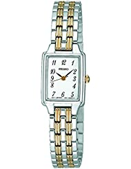 Seiko Womens SXGL61 Dress Two-Tone Watch