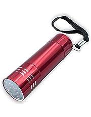 Lanterna Luz Ultravioleta 9 Leds Uv Secagem Unhas Gel Cabine