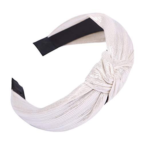 BUKEZH Women's Casual Fabric Hairband Fashion Popular Hair Head Hoop Colorful Headband (Multicolor -