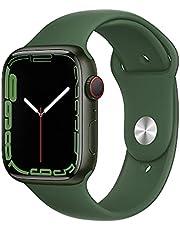 AppleWatch Series 7 GPS + Cellular• Caja de Aluminio Verde de 45mm• Correa Deportiva Verde trébol - Estándar