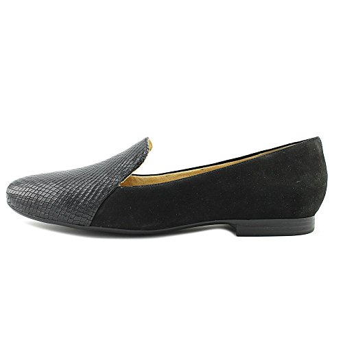 Naturalizer Vrouwen Emiline Slip-on Loafer Zwart Nubuck / Slangenprint