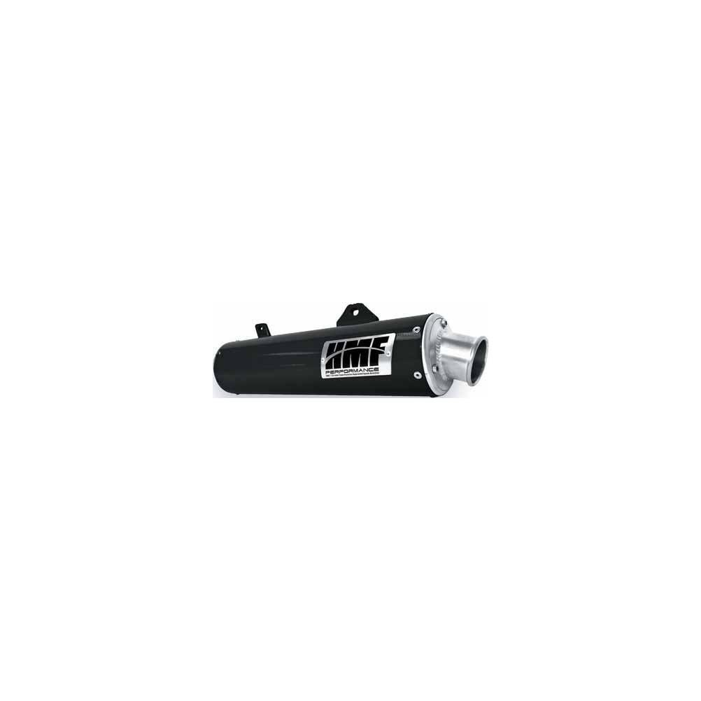 HMF Performance Slip On Exhaust Black Honda Foreman 500 06-11, Rubicon 500 06-13