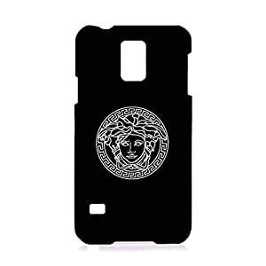 Versace Mark Phone Case Contract Design Pattern 3D Phone Case Snap on Samsung Galaxy S5 I9600 Luxury Versace Logo