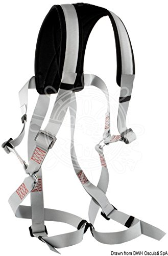 Osculati Safety Harness Fall Protection with Climbing harness Legs Shoulders
