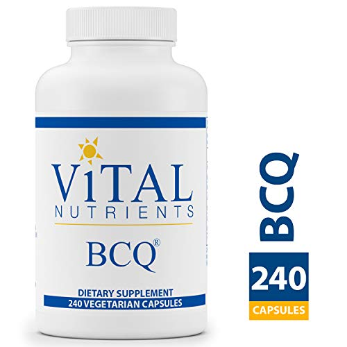 Vital Nutrients – BCQ (Bromelain, Curcumin & Quercetin) – Herbal Support for Joint, Sinus and Digestive Health – Gluten Free – 240 Capsules For Sale