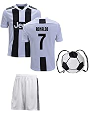 Cristiano Ronaldo Jersey #7 Youth OR Adult Soccer Gift Set ✓ Ronaldo Soccer Jersey ✓ Shorts ✓ Soccer Backpack ✓ Home or Away