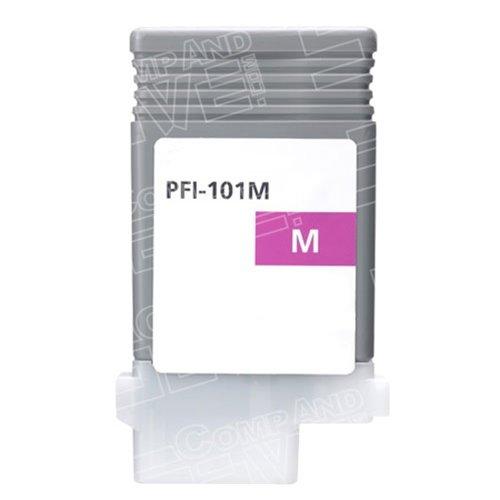 CompAndSave Compatible Canon 0885B001AA (PFI-101M) Magenta Ink (101m Magenta Ink)
