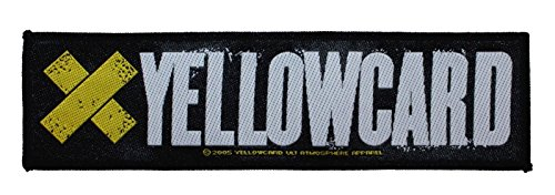 ''Yellowcard'' Punk Band Logo Alternative Rock Merchandise Sew On Applique patch by Mia_you