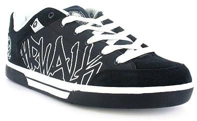 Airwalk Mens Outlaw Skate Shoes Skateboarding Full Lace Up Sport Trainers EN_7257