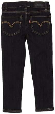 Levi's Little Girls' 2702 Denim Legging Jean, Nightout, 5R