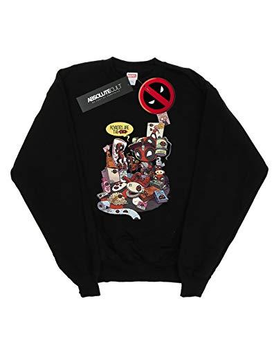 Royalties De Entrenamiento Marvel Merchandise Camisa Mujer Negro Deadpool gqtwRT