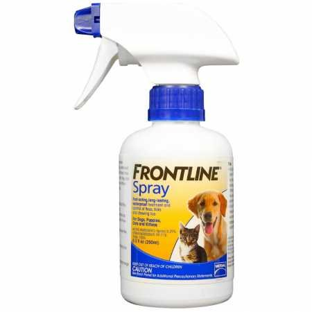 Frontline Flea and Tick Treatment Dog/Cat Spray, 8-1/2-Ounce by Frontline