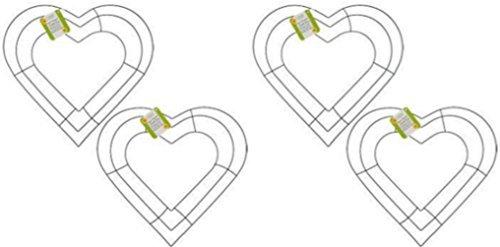 4-12-Wedding-Spring-or-Garden-Heart-Shaped-Metal-Wreath-Frames