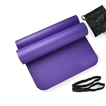 EVEYYGD Estera para Ejercicios de Yoga 15 mm de Grosor 185 ...