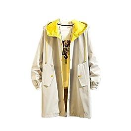 Men's Slim  Button-up  Hood Outwear Coat