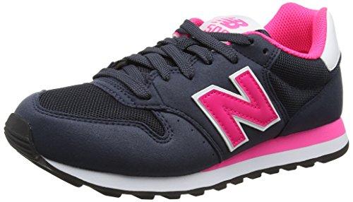 Nuovo Equilibrio Damen 500 Scarpe Da Ginnastica Mehrfarbig (navy / Colore Rosa)
