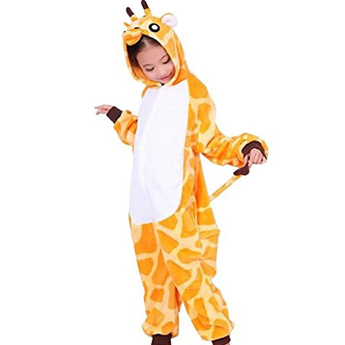 Lifeye Kids Giraffe Unisex Pajamas Cosplay Costume (Giraffe Soft Costume)