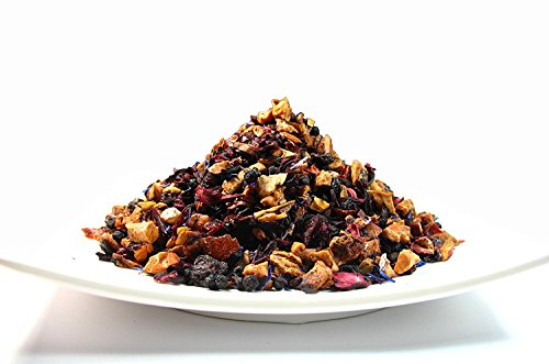 Yummy Fruit Tea, Natural blend of caffeine free dried fruits and herbs– 3.50 Oz Bag