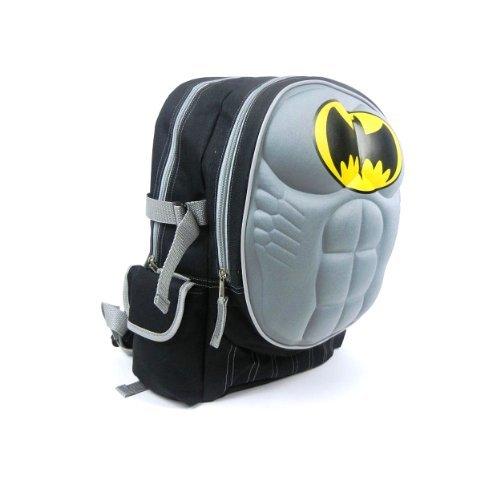 "Dc Comics Batman ""Molded Chest"" 16"" Children's School Backpack at Gotham City Store"
