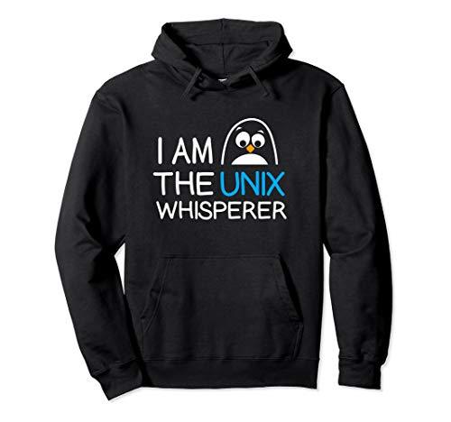 Sweatshirt Tux (Funny Networks TUX & Linux Shell IT Hoodie)