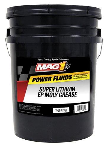 Mag 1 10379 Gray Super Lithium EP Moly Grease - 5 Gallon Pail