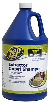 Zep Commercial ZUCEC128 128 Oz Zep Extractor Carpet Shampoo (Case of 4) Enforcer Products Inc JNSN58976