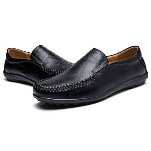 Driver Dress Slip Shoes Shoe Slipper B Boat Mens Casual Moccasins black On JIONS Loafers 5tYAwf