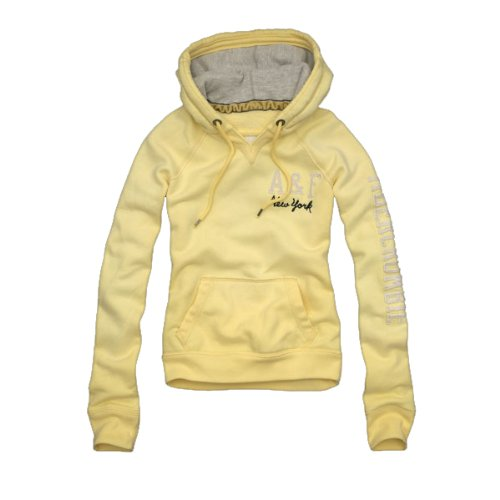 Abercrombie & Fitch -Sudadera Niños Mujer amarillo L