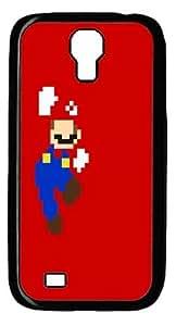 Mario Retro PC Case Cover For Samsung Galaxy S4 And Samsung Galaxy I9500 Black